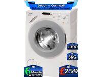 Rapid Wash, 6kg Drum, 1300 Spin, Miele Washing Machine, Factory Refurbished inc 6 Months Warranty