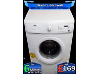 Mini Load, 6Kg Drum, LCD, Fast 1400, Zanussi Washer Dryer, Fully Refurbished inc 6 Months Warranty