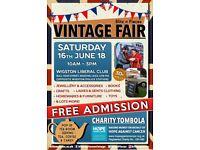 Blitz n Pieces Vintage Fair - Leicestershire
