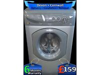 Fast 1400, 6+5Kg, Hotpoint Washer Dryer, Auto Dry, Quick, Factory Refurbished inc 6 Months Warranty