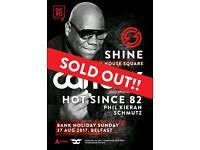 Shine Carl Cox Tickets
