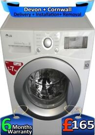 LG Washing Machine, Top Tech, No Belt, Big 7Kg, Fast Wash, Factory Refurbished inc 6 Months Warranty
