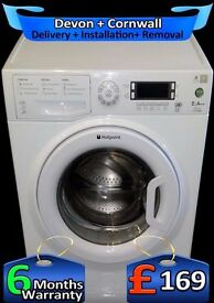 Huge 1600 Spin, AAA+ Rated, Hotpoint Ultima 9Kg Mega Drum, Fully Refurbished inc 6 Months Warranty