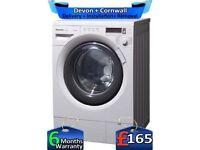Panasonic Washing Machine, Inverter, Big 8Kg, Tilted Drum, Factory Refurbished inc 6 Months Warranty