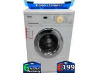 Top Miele Washing Machine, 1600 Mega Spin, AquaStop, LCD, Factory Refurbished inc 6 Months Warranty