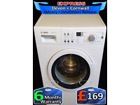 AAA+ Rated, 8Kg Mega Drum, Top Bosch Washing Machine, Fully Reconditioned inc 6 Months Warranty