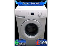 Zanussi Top 1400 Spin, Large 6Kg Drum, LCD, A+ Rated, Quick, Fully Refurbished inc 6 Months Warranty
