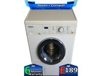 Miele Washing Machine, Top German Tech, Fast 1400, LCD, Factory Refurbished inc 6 Months Warranty