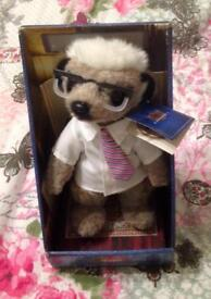 Compare The Meerkat Sergei Plush Soft Toy. Yakov's Toy Shop. With Certificate.