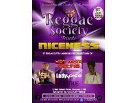 """Reggae Society presents...""""Niceness"""""""