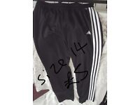 Size 14 womens adidas tracksuit bottoms