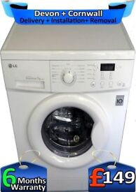 LG Washing Machine, No Belt, LCD, Top Tech, 1200, Big 7Kg, Factory Refurbished inc 6 Months Warranty