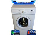 Rapid Wash, Zanussi Washing Machine, LCD, A+ Rated, 6kg, Factory Refurbished inc 6 Months Warranty