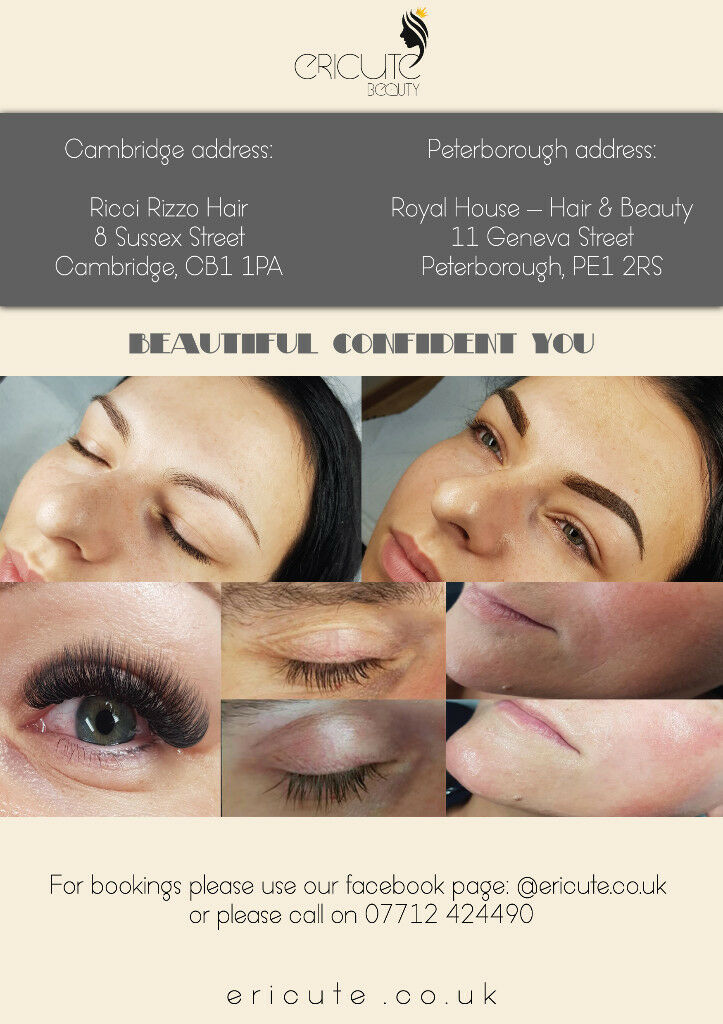 Microblading Ombre Eyebrows Eyelash Extenions Wrinkle Removal In