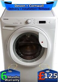 LCD, A+, 7Kg Big Drum, Hoover Washing Machine, Fast 1400, Factory Refurbished inc 6 Months Warranty