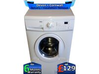 Big 7Kg, 1600 Mega Spin, Zanussi Washing Machine, LCD, A+, Factory Refurbished inc 6 Months Warranty