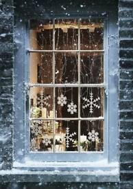 ** CHRISTMAS CLEANS** THE WINDOW CLEANERS