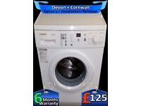 LCD Bosch, Fast 1400, A+ Rated, Large 6Kg Drum, Wash Plus, Fully Refurbished inc 6 Months Warranty
