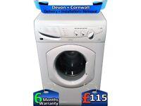 6KG Load, Fast 1400, Fast Wash, Hotpoint Washing Machine, Factory Refurbished inc 6 Months Warranty