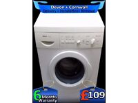 Wash Plus, Bosch Washing Machine, 6Kg Drum Capacity, 1000, Fully Refurbished inc 6 Months Warranty