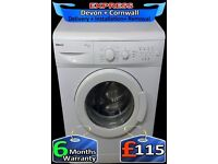 6Kg Drum, A+ Rated, Fast 1300, Beko Washing Machine, Fully Reconditioned inc 6 Months Warranty