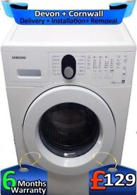 Samsung Washing Machine, Air Refresh, Rapid, LCD, Big 7Kg, Factory Refurbished inc 6 Months Warranty