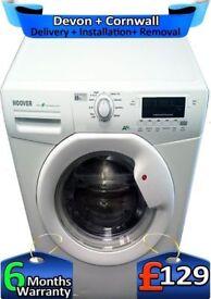 Fast Wash, A+, Big 8Kg, Fast 1400, Hoover Washing Machine, Factory Refurbished inc 6 Months Warranty