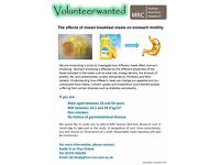 healthy male Volunteer is wanted for the study of stomach motility