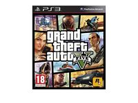 GRAND THEFT AUTO 5 PS3 OR XBOX 360 GAMES SEALED