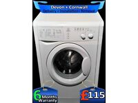 Indesit Washing Machine, 6Kg Load, Fast 1200, Quick Wash, Factory Refurbished inc 6 Months Warranty