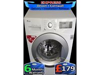 LG Top Spec Washing Machine, No Belt, A+ Rated, Musical, Fully Reconditioned inc 6 Months Warranty