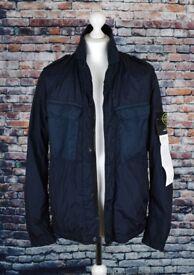 Stone Island Crinkle Reps NY Coat / Jacket