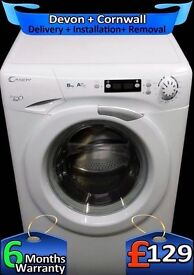 Candy Evo, 1600 Mega Spin, AAA+ Rated, LCD, 8kg Big Drum, Fully Refurbished inc 6 Months Warranty