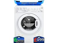 Top Tech, A+, Hotpoint Washer Dryer, 8+6KG, Fast Wash, Factory Refurbished inc 6 Months Warranty