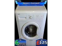 Beko Washing machine, Fast 1200, Rapid Wash, Big 7Kg, A+, Factory Refurbished inc 6 Months Warranty