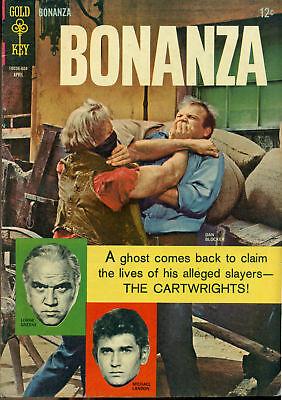 BONANZA #19 (1966) Gold Key Comics VG+