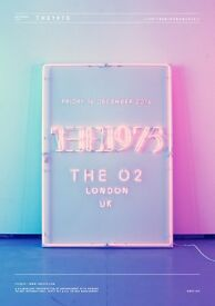 The 1975 2 x standing tickets O2 Arena London 16/12/16