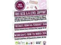 FREE GCSE STUDY SUPPORT