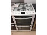 ***NEW Zanussi 55cm wide gas cooker for SALE with 1 year warranty***