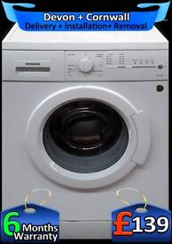 Fast 1400, A+ Rated, Siemens Washing Machine, Top Spec, Factory Refurbished inc 6 Months Warranty