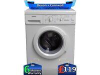 Fast 1200, Half Load, 5.5kg, Siemens Washing Machine, Factory Refurbished inc 6 Months Warranty