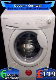 A+ Rated, 1600 Mega Spin, Hoover Washing Machine, Fast Wash, Fully Refurbished inc 6 Months Warranty