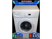 Mega spin 1500 Beko Washing Machine, Fast Wash, Fully Reconditioned inc 6 Months Warranty