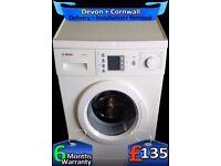 Top Bosch Washing Machine, Big LCD, Big 7Kg, Fast Wash, A+, Fully Refurbished inc 6 Months Warranty