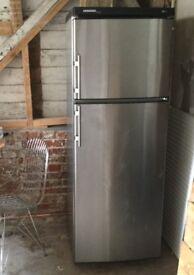 LIEBHERR Freestanding Fridge Freezer 70/30 Stainless Steel Cost Approx £1000