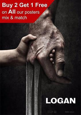 Logan Movie Poster  A5 A4 A3 A2 A1