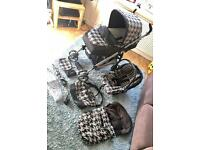 Mamas and Papas Primo Viaggio travel system car seat and pushchair