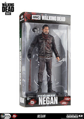 Negan Exclusive Bloody Lucille The Walking Dead Color Tops 18 cm Figur McFarlane