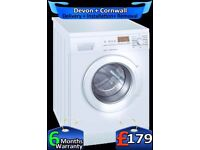 Top Siemens Washer Dryer, Big LCD, Silent, Fast Wash, A+, Fully Refurbished inc 6 Months Warranty