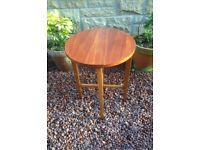 Vintage Folding Wooden Coffee / Side / Bedside Table - G Plan Mid Century Retro